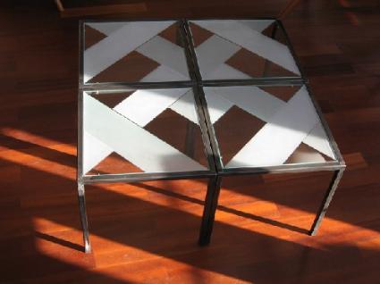 Quadrat-Tische